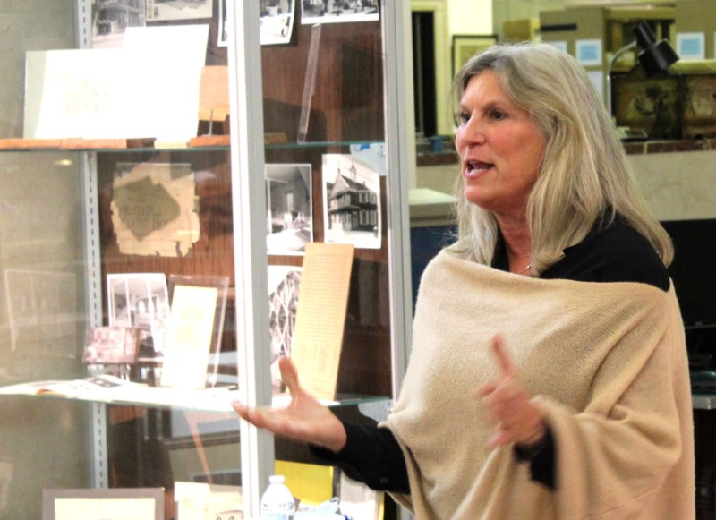 Laurie Grant, Executive Director of the Delaware County Historical Society